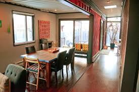 sea shipping container cabin shelter home framing and insulation