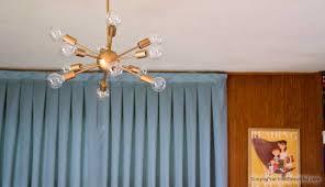 midcentury lighting a sputnik chandelier simple practical beautiful