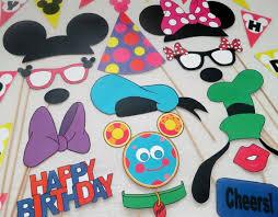 20 mickey photo booth ideas mickey birthday