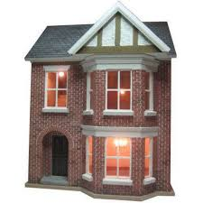 decorated bay view dolls house 1 24 scale built u0026 decorated
