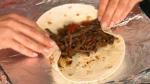 warm picnic burritos food network