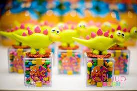 dinosaur party favors kara s party ideas pink dinosaur birthday party for via