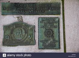 bronze memorial plaques bronze memorial plaques to soldiers of the american stock photo
