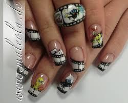 nails design galerie galerie ma leo la pinselmalerei one stroke airbrush