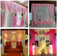 wedding backdrop aliexpress pink silver paillette wedding backdrop curtain stage backdrop