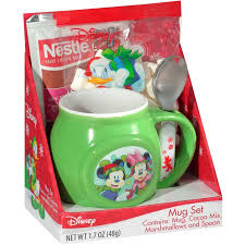 hot cocoa gift set disney mug gift set 4 pc walmart
