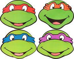 free printable tmnt masks mutant ninja turtles party