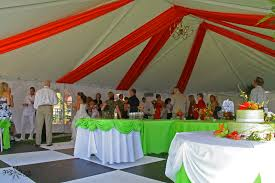 Tropical Theme Wedding - tented events let me wow u kenosha wi 888 819 9698