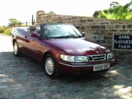 saab convertible red saab 900 se convertible in red with black roof 1995 n reg fully