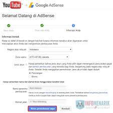 membuat akun youtube di hp hanya butuh waktu 3 hari daftar google adsense melalui youtube