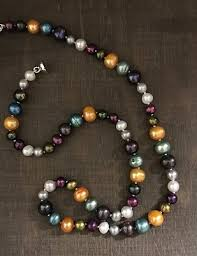coloured pearl necklace images Samangoo jewellery 00_jp