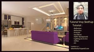 sketchup interior design youtube