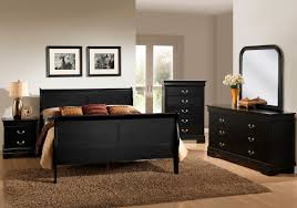 Mirror As A Headboard Black Sleigh Bed Group Unclaimed Freight Co