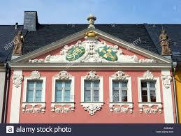 siege baroque baroque house siegertsche haus chemnitz saxony germany stock
