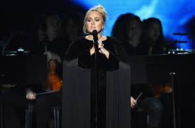 George Michael Youtube by Adele Drops F Bomb And Restarts Her Performance Of George