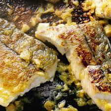 plancha cuisine haddock a la plancha with caramelized garlic the foodie