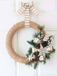 Home Made Decoration Best 25 Homemade Christmas Wreaths Ideas On Pinterest Diy