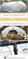 greenhouse irrigation systems diy overhead sprinkler system for