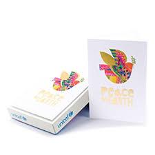 hallmark unicef boxed cards peace on earth