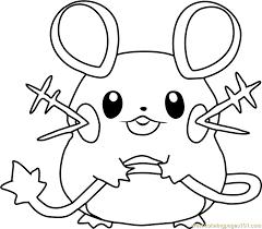 zombie pokemon coloring pages dedenne pokemon coloring page free pokémon coloring pages