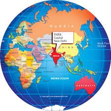 world map globe image where is india world globe