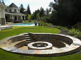 Garden Firepit Awesome Best 25 In Ground Pit Ideas On Pinterest Pit How