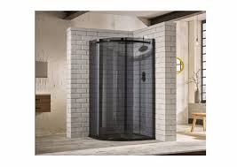 sphere tinted glass 1 door quadrant shower enclosure 8mm glass