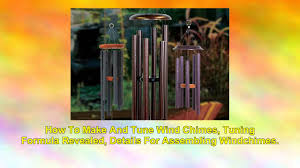 tune wind chimes youtube