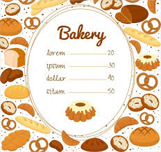27 bakery menu templates u2013 free sample example format download