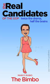 Transvestite Meme - real candidates of the gop marco rubio the bimbo http sean