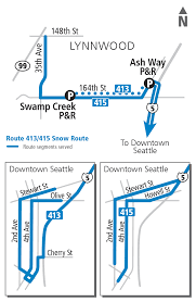 Seattle Metro Bus Routes Map by Schedules
