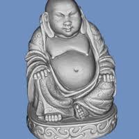 3d printed buddha by imlab pinshape