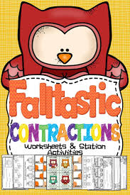 18 best contractions images on pinterest teaching ideas
