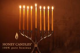 hanukkah candles for sale beeswax hanukkah candles at last
