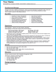Sample Server Resume by 100 Resume For Server Best Server Resume Example Livecareer