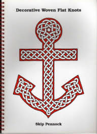 books on knots and ships and a few cords and thimbles