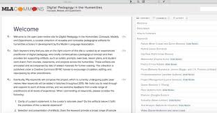 open review for digital pedagogy in the humanities u2013 profhacker