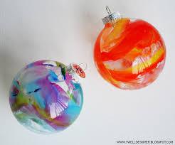 diy crayon drip ornaments