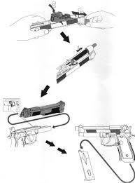 socom gear m9a1 gas blow back pistol manual
