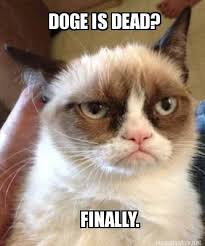 Meme Generator Doge - meme maker doge is dead finally