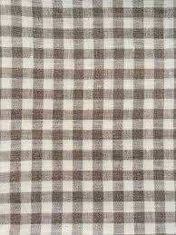 linen duvet cover in natural and white gingham linen 4 you