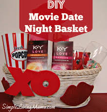 date gift basket ideas diy date basket for your simple living