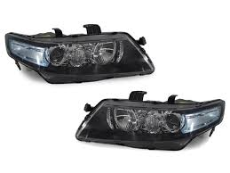 2004 honda accord headlights 2004 2008 acura tsx jdm cl7 blue corner d2s projector headlights
