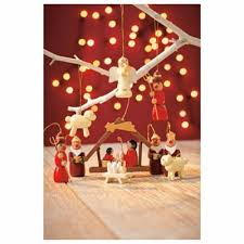 buy tesco nativity christmas decoration 12 pack from our all