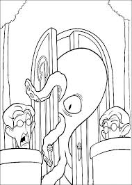 Coloring Pages Meet The Robinsons Animated Images Gifs Coloring Scares