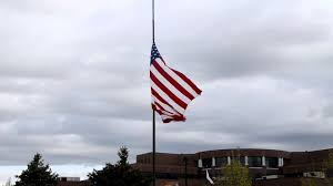 Flying The Flag At Half Staff Half Mast And Half Staff By The Colonial Flag Foundation Youtube