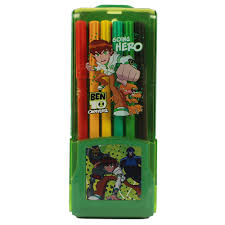 ben 10 omniverse 12 pcs colour sketch redlily