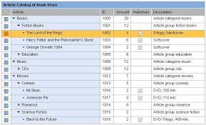 tutorial java web dynpro integration of a tree structure in a web dynpro table sap library
