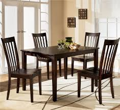 furniture kitchen table set furniture hyland 5 dining set with rectangular table