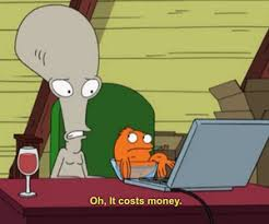 American Dad Meme - american dad meme it costs money on bingememe